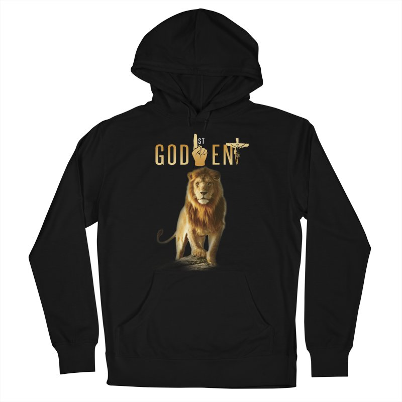 Lion Tee Men's Pullover Hoody by King James's Artist Shop