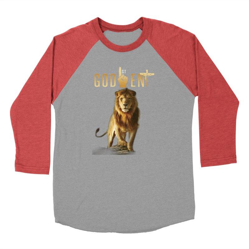 Lion Tee Men's Longsleeve T-Shirt by King James's Artist Shop