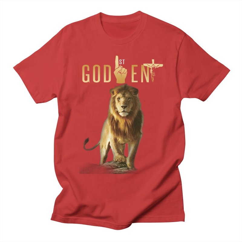 Lion Tee Men's T-Shirt by King James's Artist Shop
