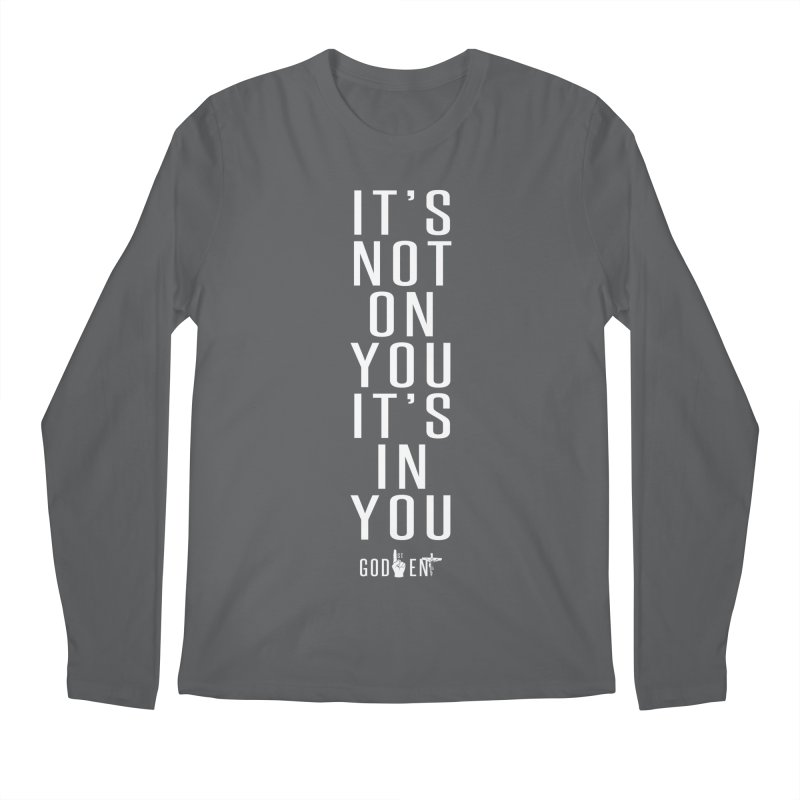 Its Not On You. Men's Longsleeve T-Shirt by King James's Artist Shop
