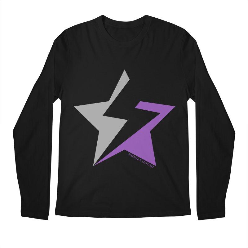 StarrBolt Collection Men's Longsleeve T-Shirt by kingstonandgreystarr's Artist Shop