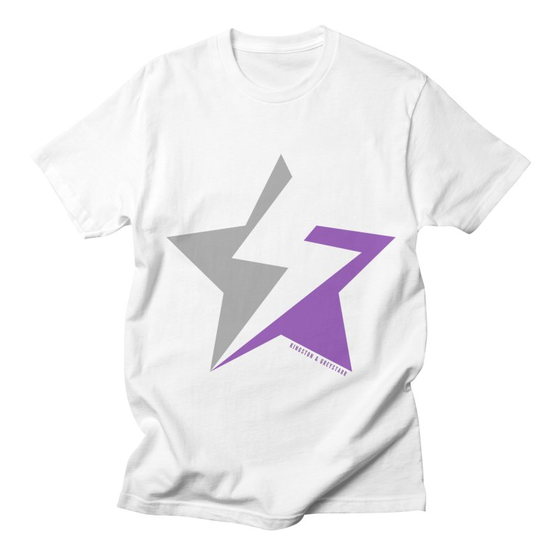 StarrBolt Collection Women's Regular Unisex T-Shirt by kingstonandgreystarr's Artist Shop
