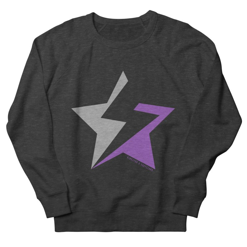 StarrBolt Collection Men's French Terry Sweatshirt by kingstonandgreystarr's Artist Shop