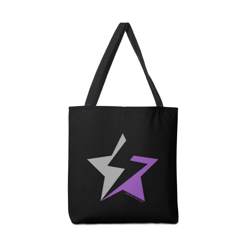 StarrBolt Collection Accessories Bag by kingstonandgreystarr's Artist Shop