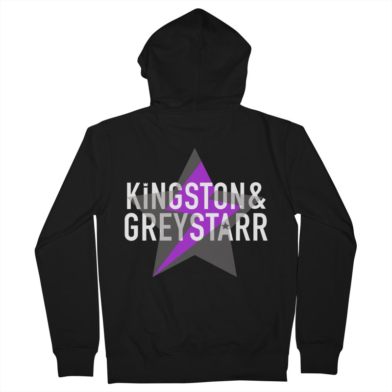 The Classic Collection Men's Zip-Up Hoody by kingstonandgreystarr's Artist Shop