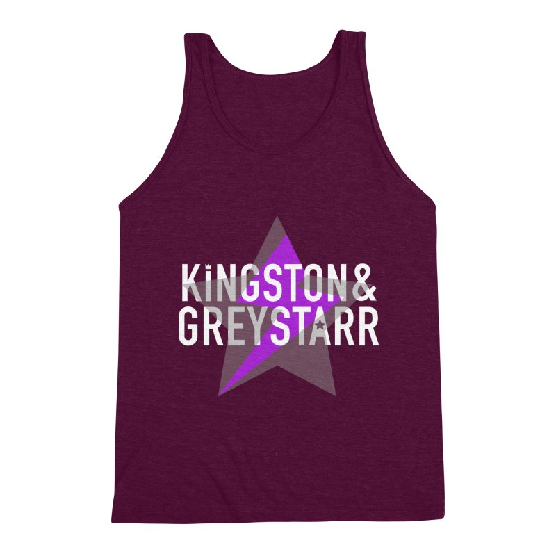 The Classic Collection Men's Triblend Tank by kingstonandgreystarr's Artist Shop