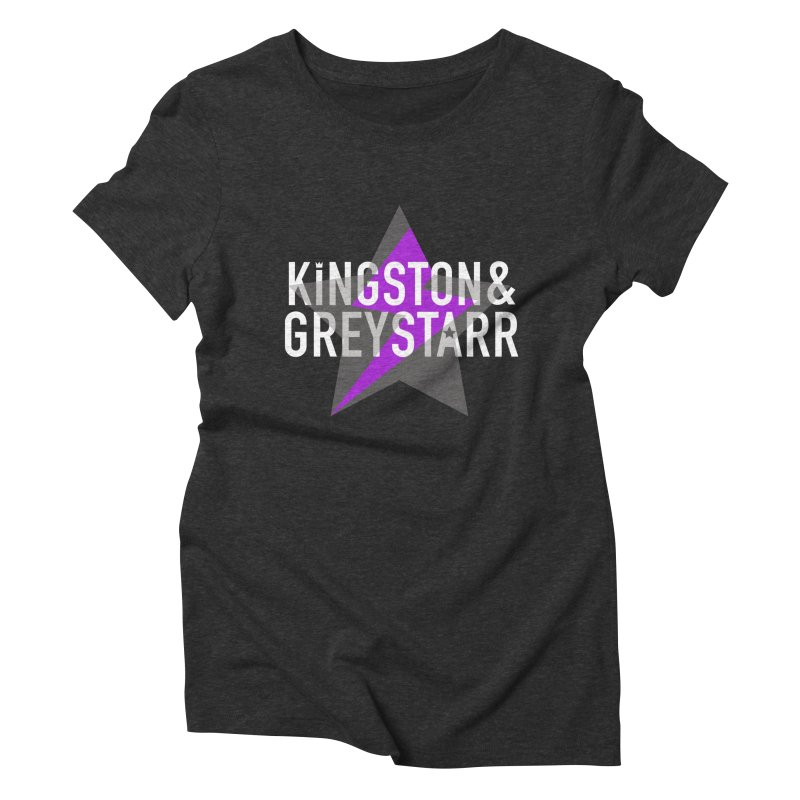 The Classic Collection Women's Triblend T-Shirt by kingstonandgreystarr's Artist Shop