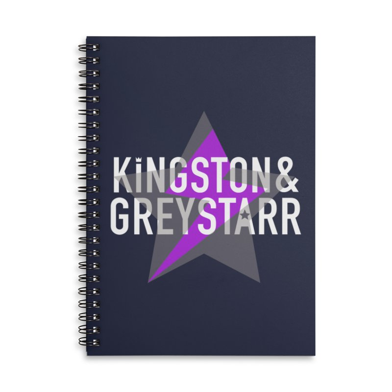 The Classic Collection Accessories Notebook by kingstonandgreystarr's Artist Shop