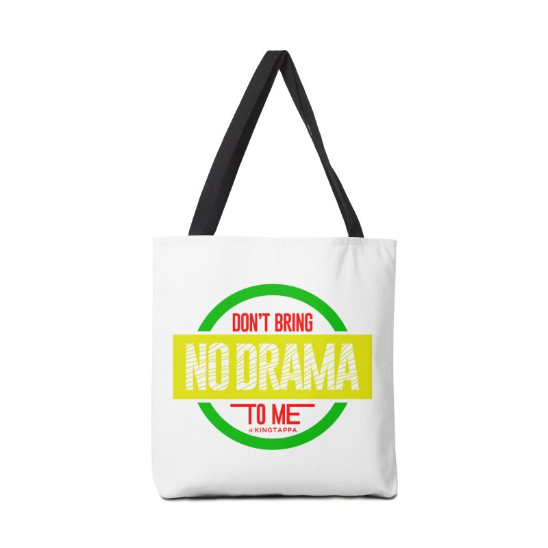 NO DRAMA COLOR Accessories Bag by King Tappa  Artist Shop