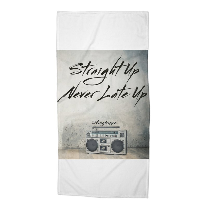 Radio Vibes Accessories Beach Towel by King Tappa  Artist Shop