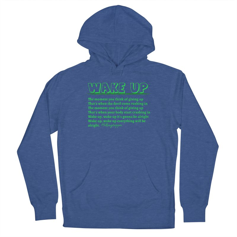Wake Up Women's Pullover Hoody by King Tappa  Artist Shop