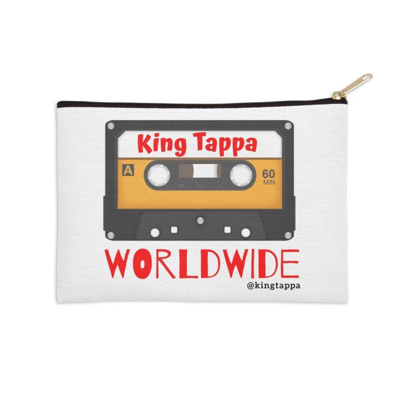 WORLDWIDE Accessories Zip Pouch by King Tappa  Artist Shop