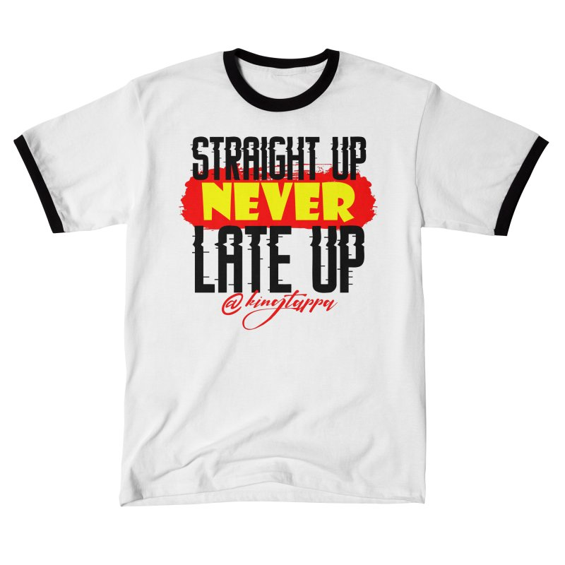Never Late up 3 Men's T-Shirt by King Tappa  Artist Shop