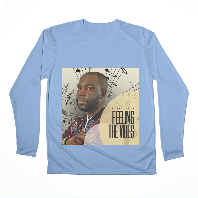 Feeling The Vibes Album Cover Women's Longsleeve T-Shirt by King Tappa  Artist Shop
