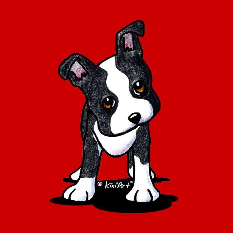 KiniArt Boston Terrier by KiniArt