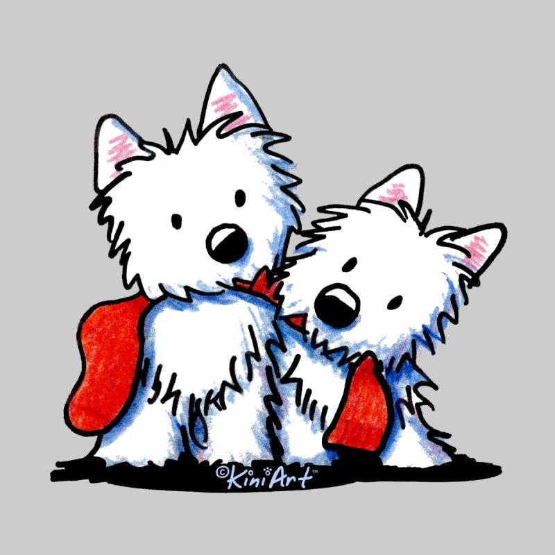 KiniArt Westie Sock Duo by KiniArt