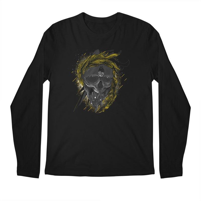 Dead Hipster Men's Longsleeve T-Shirt by kinkimena
