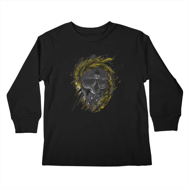 Dead Hipster Kids Longsleeve T-Shirt by kinkimena