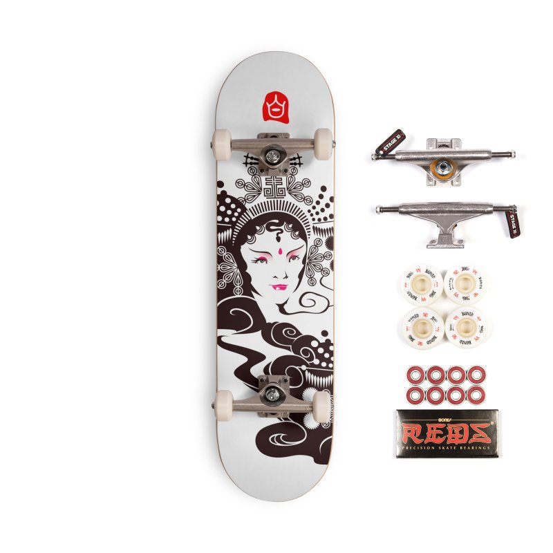 BaiShuZhen Accessories Skateboard by KINONATO