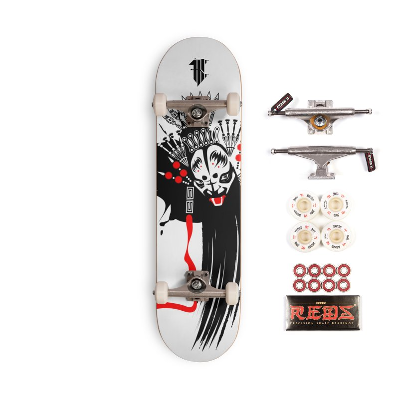 ZhangFei Accessories Skateboard by KINONATO