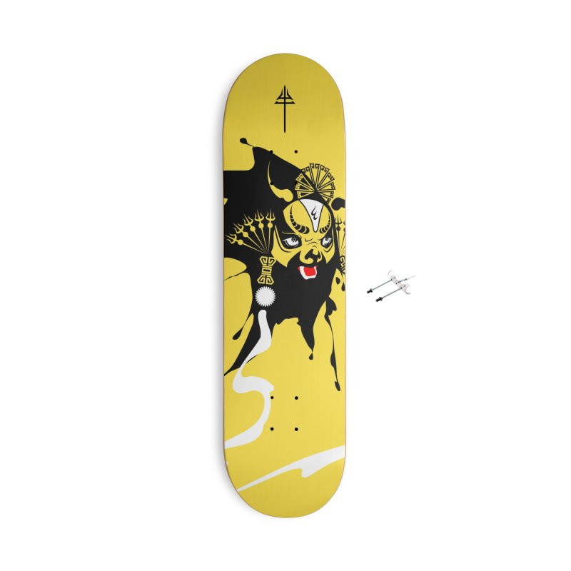 The Ox King Accessories Skateboard by KINONATO