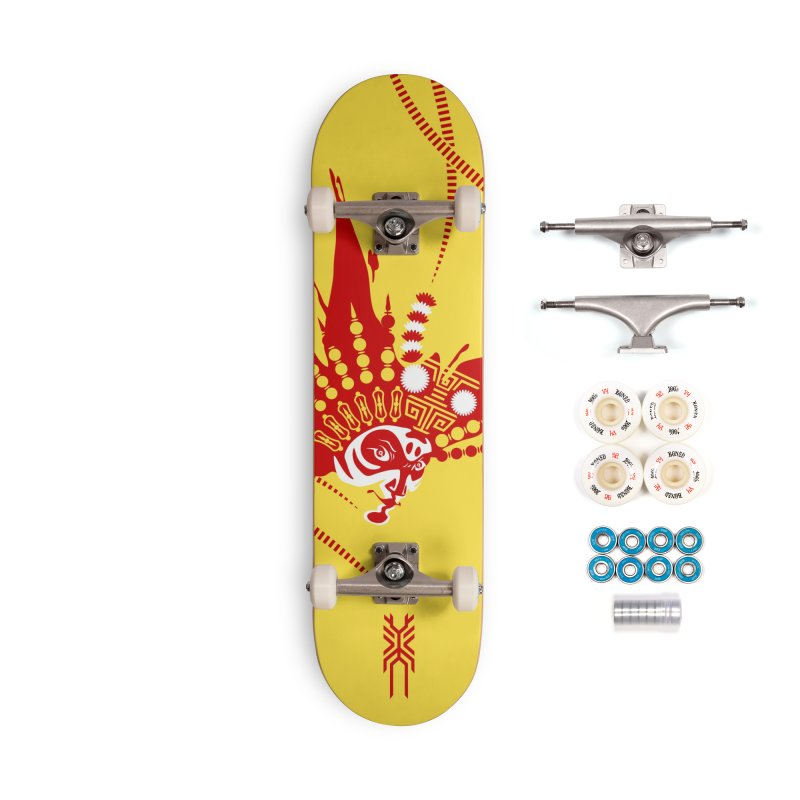The Magnificent Monkey King Accessories Skateboard by KINONATO