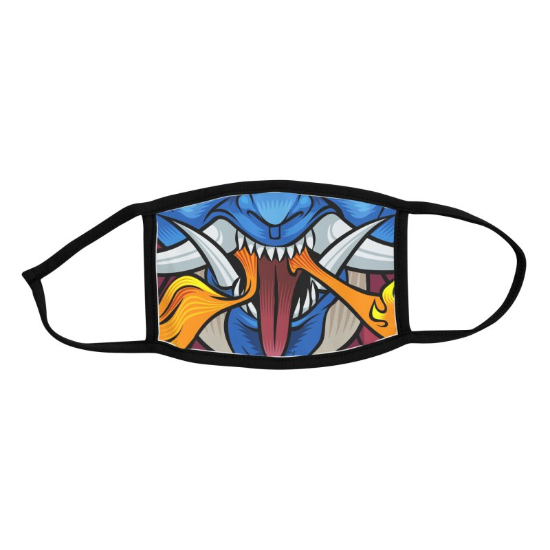 Mahakala Accessories Face Mask by KINONATO