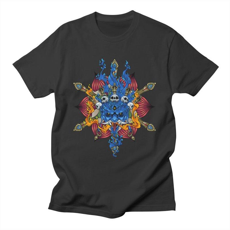 Mahakala Men's T-Shirt by KINONATO