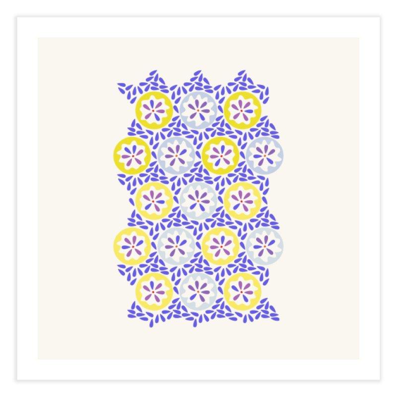 Moroccan Spring Home Fine Art Print by Kira Seiler