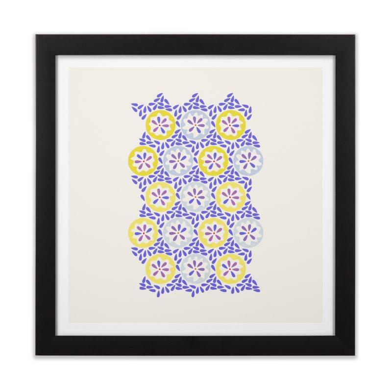 Moroccan Spring Home Framed Fine Art Print by Kira Seiler