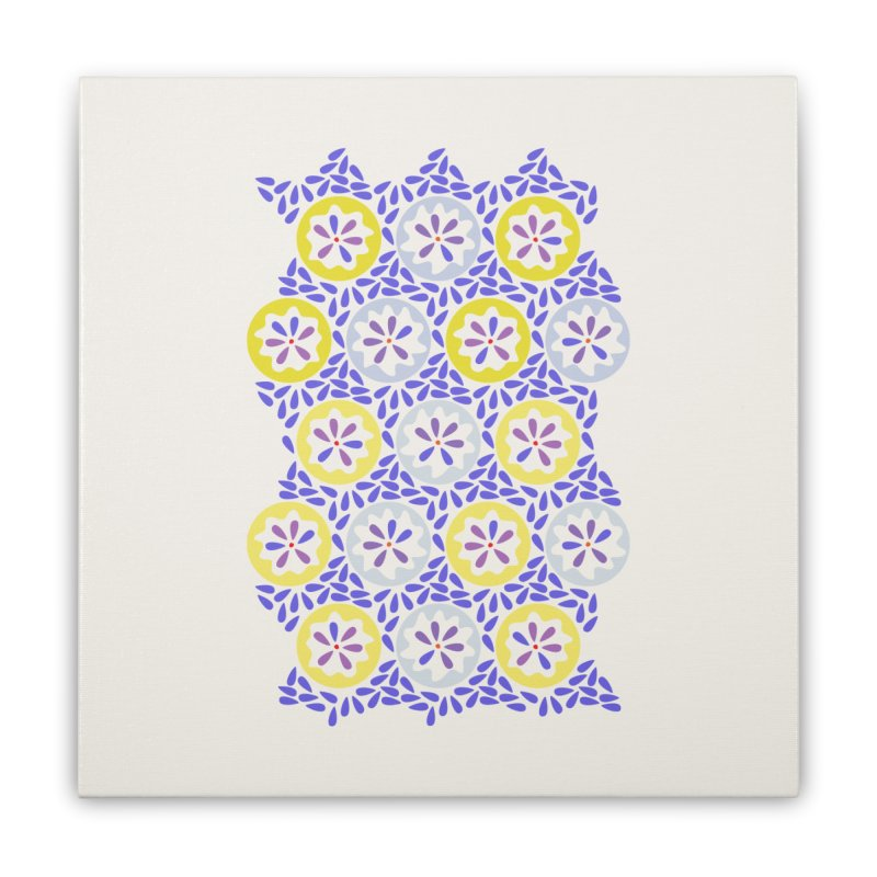 Moroccan Spring Home Stretched Canvas by Kira Seiler