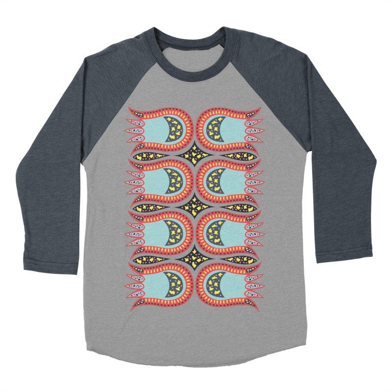 Wild Tulip Men's Baseball Triblend T-Shirt by Kira Seiler