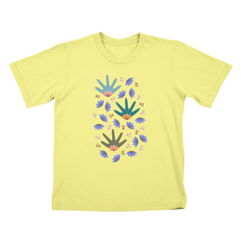 Spring Breeze Kids T-shirt by Kira Seiler