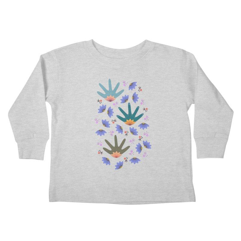 Spring Breeze Kids Toddler Longsleeve T-Shirt by Kira Seiler