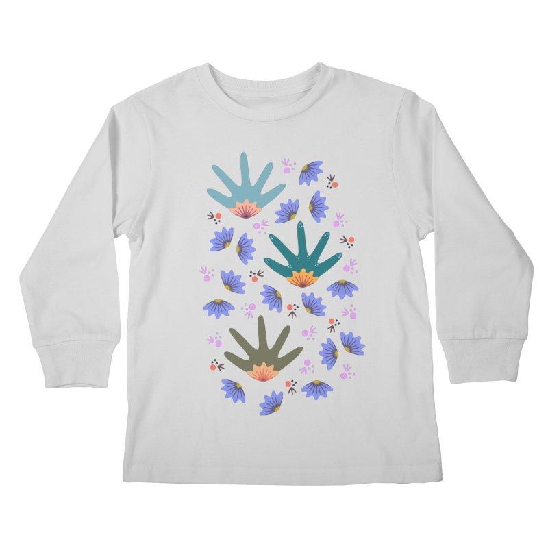 Spring Breeze Kids Longsleeve T-Shirt by Kira Seiler
