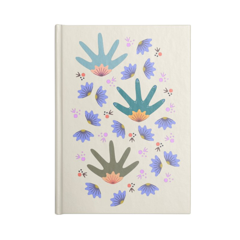Spring Breeze Accessories Notebook by Kira Seiler