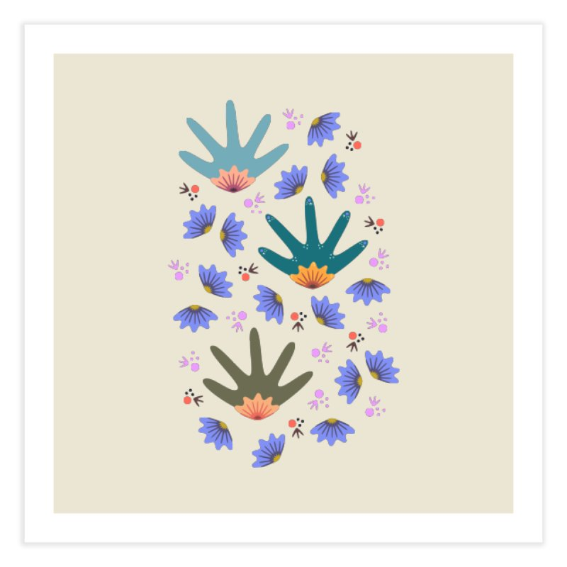 Spring Breeze Home Fine Art Print by Kira Seiler