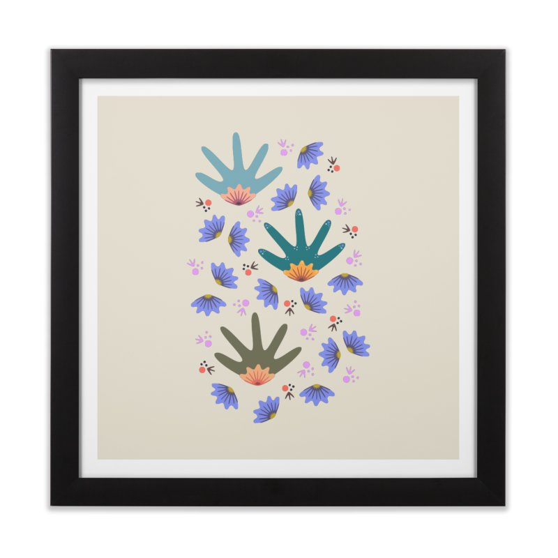 Spring Breeze Home Framed Fine Art Print by Kira Seiler
