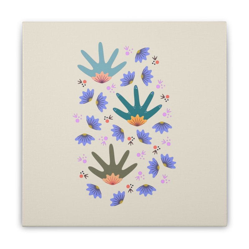 Spring Breeze Home Stretched Canvas by Kira Seiler