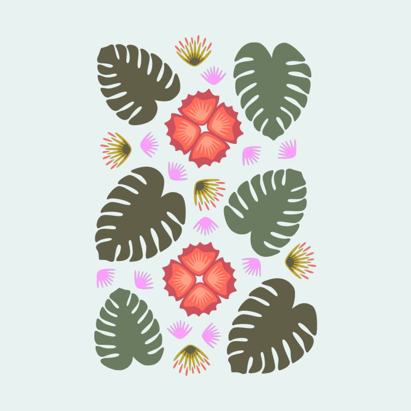 Tropical Leaves by Kira Seiler