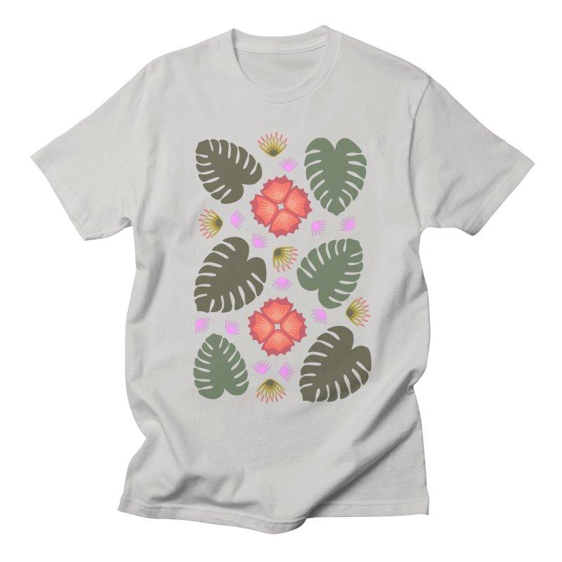 Tropical Leaves Women's Unisex T-Shirt by Kira Seiler