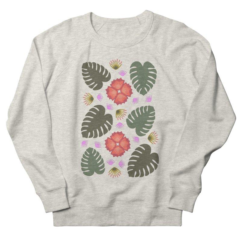 Tropical Leaves Men's Sweatshirt by Kira Seiler