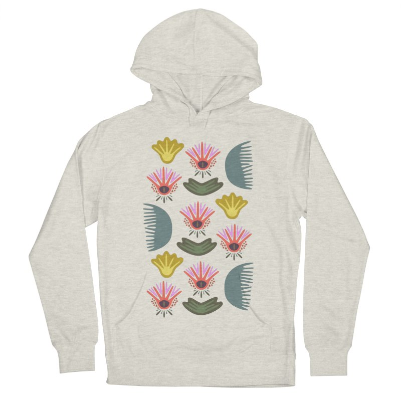 Water Lily Men's Pullover Hoody by Kira Seiler