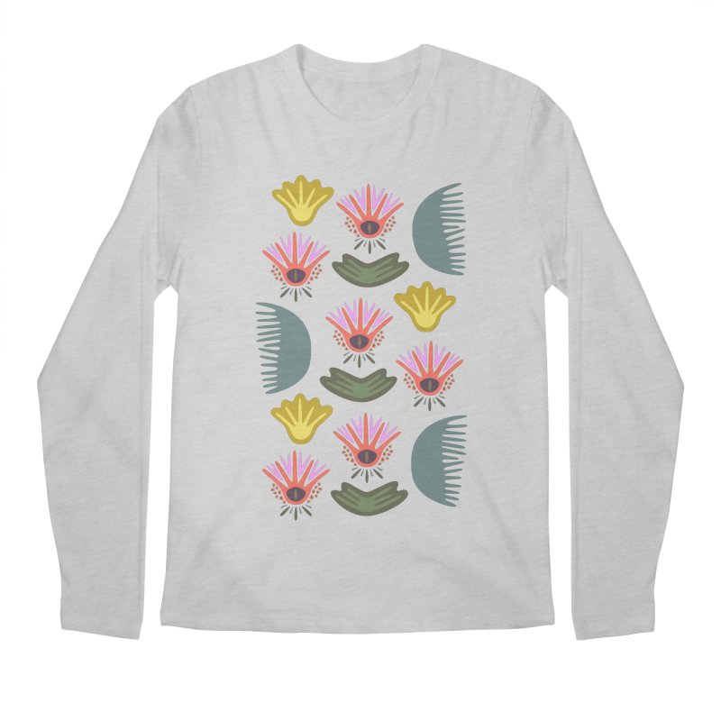 Water Lily Men's Longsleeve T-Shirt by Kira Seiler