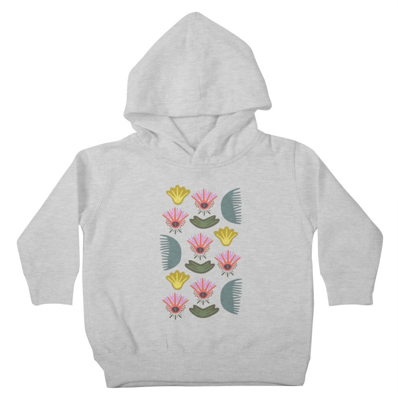 Water Lily Kids Toddler Pullover Hoody by Kira Seiler