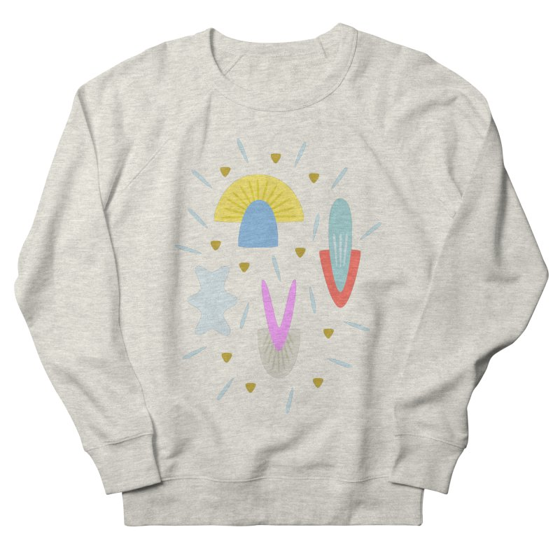 Happy Shroom light Women's Sweatshirt by Kira Seiler