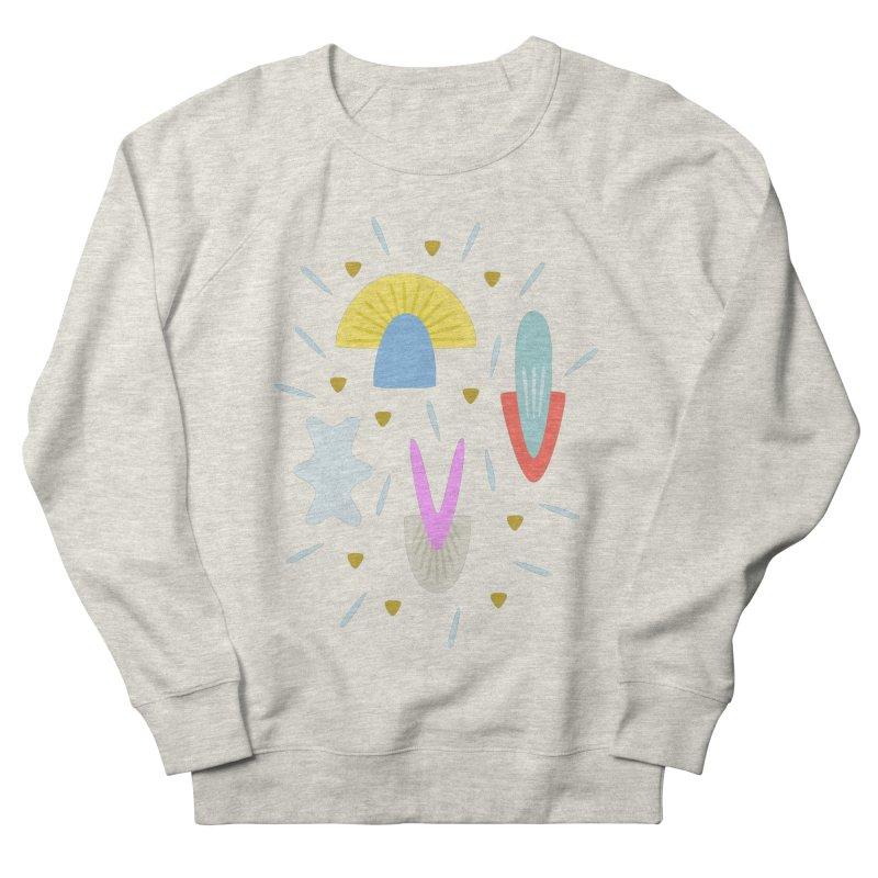Happy Shroom light Men's Sweatshirt by Kira Seiler