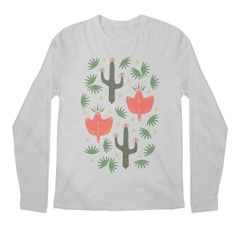 Mexican Spring Men's Longsleeve T-Shirt by Kira Seiler