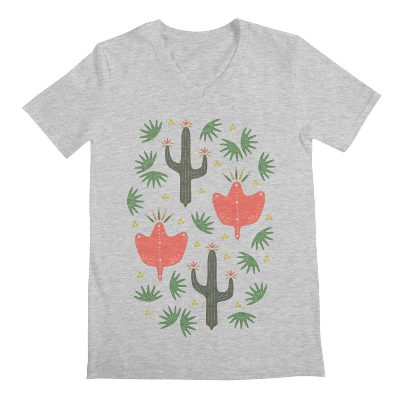Mexican Spring Men's V-Neck by Kira Seiler