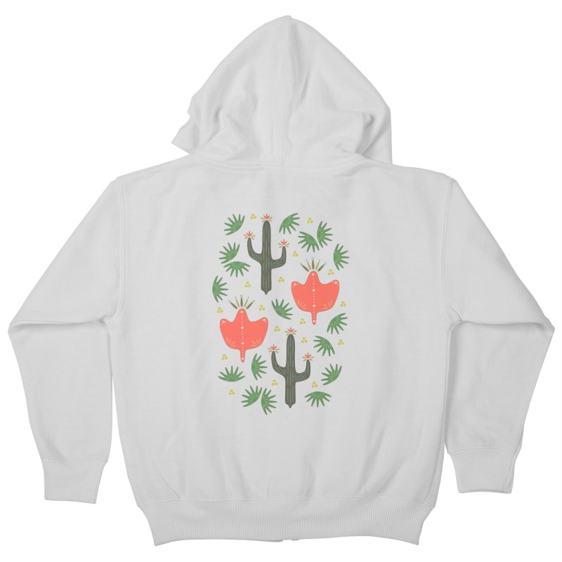 Mexican Spring Kids Zip-Up Hoody by Kira Seiler
